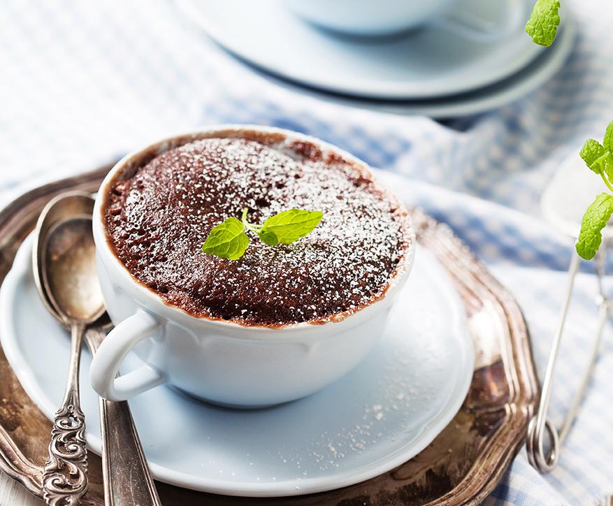 Le mug cake révolutionne «facilement» nos petits-déjeuners et nos pauses gourmandes !